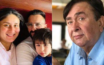 Kareena Kapoor Khan Blessed With A Baby Boy: Saif Ali Khan And Son Taimur Ali Khan Leave The Hospital; Grandpa Randhir Kapoor Arrives