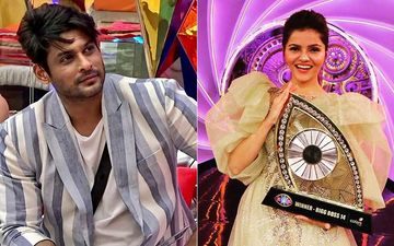 Bigg Boss 14 Grand Finale: Bigg Boss 13 Winner Sidharth Shukla Congratulates Rubina Dilaik As She Lifts The Winning Trophy; Tells Her 'Well Played'