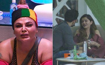Bigg Boss 14 Feb 3 SPOILER ALERT: Rakhi Sawant Cries Inconsolably After Major Revelation About Husband Ritesh; Former Has A Showdown With Rubina-Abhinav