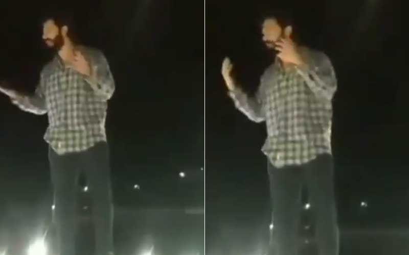 Bhediya: Varun Dhawan's Fans Interrupt Film Shoot In Arunachal Pradesh; Actor Climbs On Top Of A Car And Humbly Requests Them 'Abhi Ke Liye Thoda Shanti Rakho'