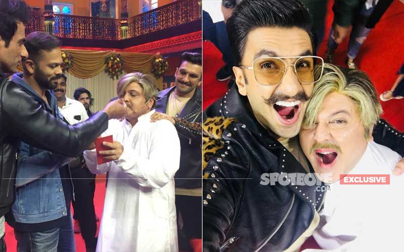 Ranveer Singh, Rohit Shetty Celebrate Ali Asgar's Birthday On The Sets Of Kanpur Wale Khuranas – Exclusive Pictures