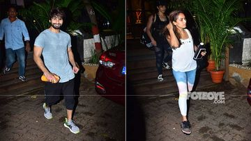 Shahid Kapoor And Mira Rajput Are The Definition Of #CoupleGoals As They Get Snapped Together Post A Workout