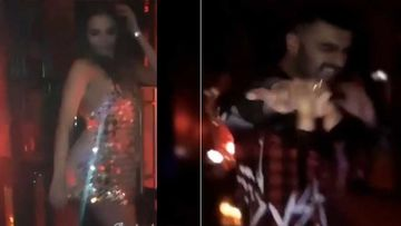 INSIDE VIDEOS: Lovebirds Arjun Kapoor And Malaika Arora Dance As If No One Is Watching
