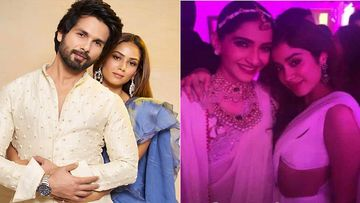 Inside Pictures From Shahid Kapoor And Sonam Kapoor's Homes: Here's How The Stars Celebrated Diwali 2019