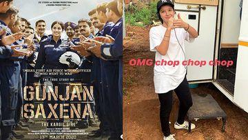 Gunjan Saxena: The Kargil Girl: Janhvi Kapoor Teases Assistant Director And Cousin Shanaya Kapoor On Sets Of The Film