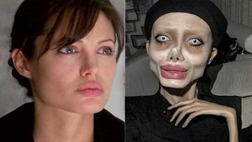 Iranian Instagram Star Arrested For Posting Scary Pictures Of Angelina Jolie's Lookalike