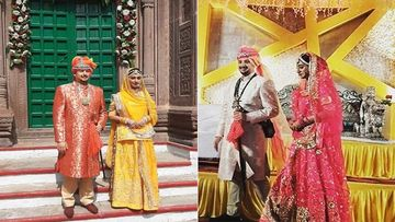 Mohena Kumari Singh Gets A Royal Reception In Rewa Post Her Grand Haridwar Wedding Ceremony- Pics INSIDE