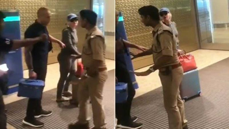 Katy Perry Sparks An Up'ROAR' After Ignoring Security At Mumbai International Airport-WATCH VIDEO