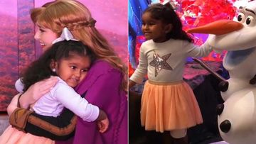 Frozen 2: Sunny Leone's Aww-Dorable Daughter Nisha Weber Steals The Show At The Film's India Premiere