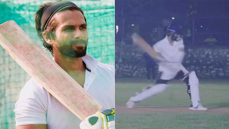 Jersey: Ishaan Khatter Is Blown Away As Shahid Kapoor Hits A Six During The Film's Prep