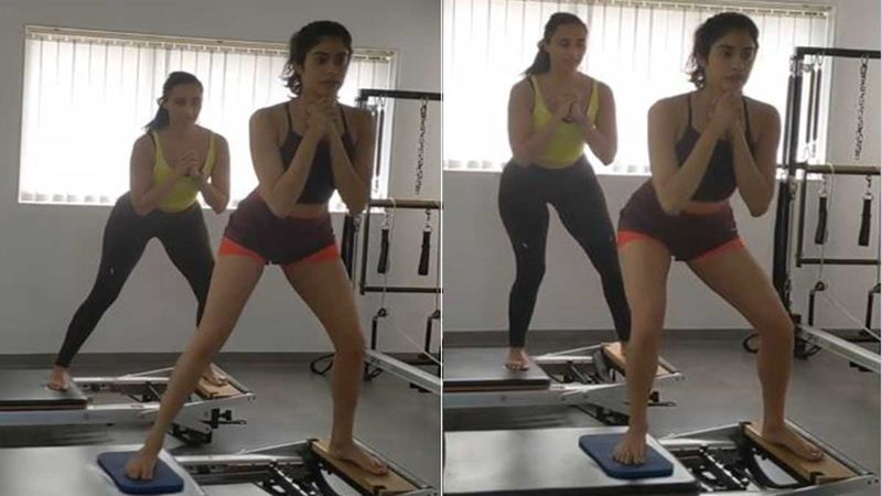 Janhvi Kapoor Turns Up The Temperature With Her 'Glutes On Fire' Routine; The Actress Is High On Motivation