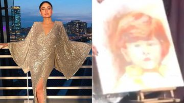 Kareena Kapoor Khan Receives One Of The Most Adorable Gifts From Her Fan, A Painting Of Li'l Taimur