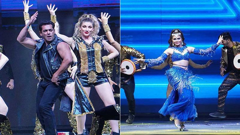 Dabangg Tour: Before Recording A Birthday Wish For SRK, Salman Khan Set The Stage Ablaze With Sonakshi Sinha And Jacqueline Fernandez