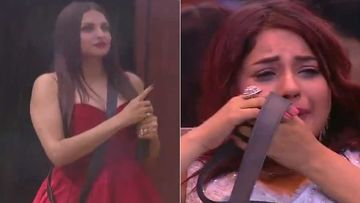 Bigg Boss 13 SPOILER: Shehnaaz Gill Creates A Ruckus, Cries, Pulls Out Her Hair On Seeing 'Rival' Himanshi Khurana Enter As Wild Card