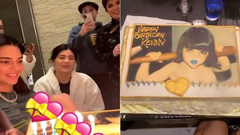 Kendall Jenner Celebrates Her 24th Birthday With A Big  Cake Featuring Herself: INSIDE VIDEO