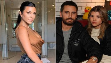 Kourtney Kardashian Is OKAY With Ex Scott Disick Spending Thanksgiving With GF Sofia Richie Instead Of Their Children