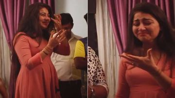 Yeh Hai Mohabbatein Actress Aditi Bhatia AKA Ruhi Cries Inconsolably On Her Last Day On Sets -Watch Video