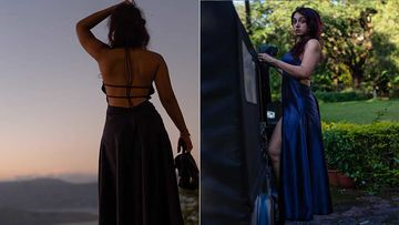 Aamir Khan's Daughter Ira Khan Is Hotness Personified As She Strikes A Pose In A Thigh-High Slit Dress