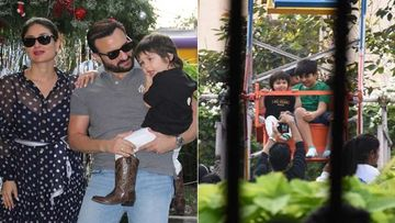 Taimur Ali Khan 3rd BDay Party: Tim Enjoys A Giant Wheel Ride; Saif Ali Khan Sends Cake For Paps - INSIDE PICS