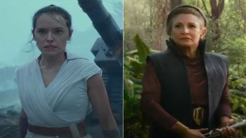 Star Wars The Rise Of Skywalker Daisy Ridley Says Shooting Without Carrie Fisher Was Definitely Difficult