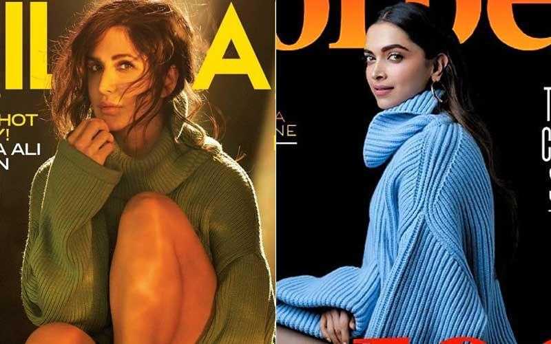 "Katrina Kaif's ""Sweater In June"" Look 'Inspired' By Deepika Padukone's Forbes Magazine Cover: Diet Sabya"