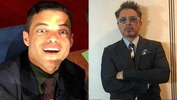 Did Rami Malek Just Reveal He Has A HUGE Crush On Robert Downey Jr? -WATCH VIDEO