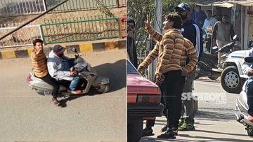 Ranveer Singh Caught In Jayeshbhai Jordaar Avatar On The Streets Of Gujarat; Fans Record The On Location Scene