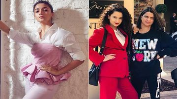 Alia Bhatt On Kangana Ranaut's Sister Rangoli Taking A Jibe At Her; Says 'Let Them React How They Want To'