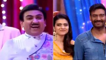 Taarak Mehta Ka Ooltah Chashma: Ajay Devgn-Kajol Have Fun In Gokuldham Society; Jethalal Proves To Be A Kajol Fan