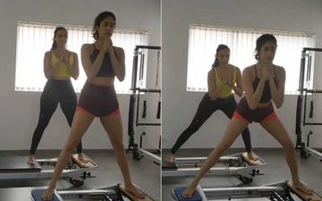 Janhvi Kapoor's Pilates Partner Is Majorly Missing Her Monday Mornings With The Actress; Shares A Throwback Video Of Them Working Out-WATCH