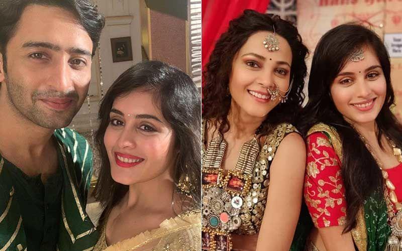 Yeh Rishtey Hain Pyaar Ke Actors Shaheer Sheikh, Rhea Sharma, Kaveri Priyam And Others Celebrate Their Last Day On Sets With A Heavy Heart-PICS