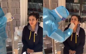 Raveena Tandon Undergoes COVID-19 Swab Test Again In Dalhousie And Shares Video As She Becomes A 'Pro At It'; Resumes Work After 8 Months