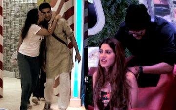 Bigg Boss 14 Day 10 SPOILER: Pavitra Punia Gives Eijaz Khan A Peck On His Cheeks; Nikki Tamboli Gets Head Massages From Jaan Kumar Sanu