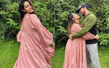 Preggers Anita Hassanandani Shares Some Cutesy Pics From Her Lonavala Diaries; Poses For A Lovey-Dovey One With Hubby Rohit Reddy