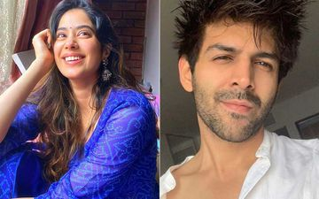 Janhvi Kapoor Gives Her Honest Opinion On Kartik Aaryan's Latest Post; Gets Called A 'Negative Insaan' As She Does Not Approve Of The Actor's New Look