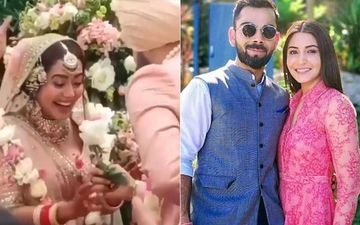 Neha Kakkar-Rohanpreet Singh Wedding: The Newly-Wed Couple's Shaadi Look From Their Big Day Reminds Fans Of Virat Kohli And Anushka Sharma