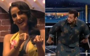 Bigg Boss 14: Nora Fatehi Makes Salman Khan, Eijaz, Abhinav And Rahul Do The GARMI Hookstep; Salman Says 'Nora, Yeh Kya Karwa Rahi Ho?'