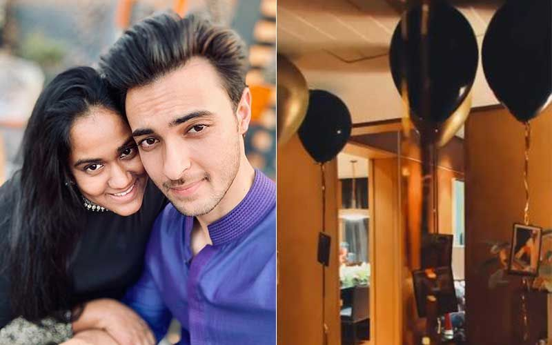 Salman Khan's Sister Arpita Khan Sharma Organises A Special Surprise For Aayush Sharma's Birthday; Vitrual Tour Of The Sharma Family House INSIDE