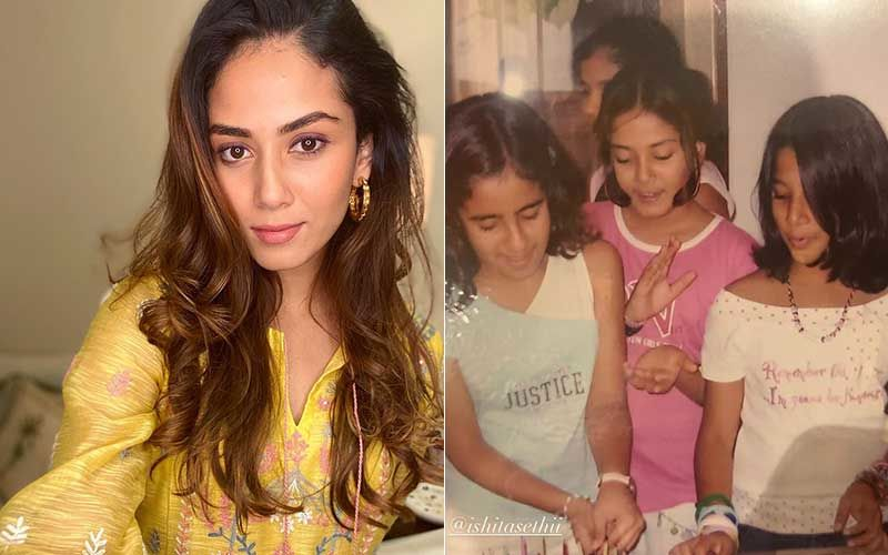 Mira Rajput Posts An Unseen Throwback Pic From 2000;  The Star Wife Was A Total Fashionista Even At Age Six
