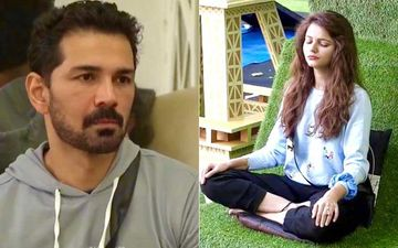 Bigg Boss 14: Abhinav Shukla Schools Wife Rubina Dilaik For Not Performing A Yoga Pose Correctly; She Feels Embarrassed And Asks Him To Shut Up
