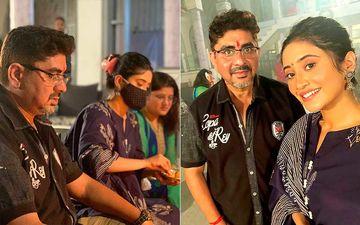 Yeh Rishta Kya Kehlata Hai: Producer Rajan Shahi Performs Diwali Puja With Shivangi Joshi AKA Naira On The Sets-PICS INSIDE