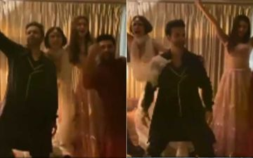 Diwali 2020: Aamir Ali, Aamna Sharif And Mouni Roy Groove To The Beats Of Salman Khan's Jeene Ke Hain Chaar Din Like No One's Watching-VIDEO