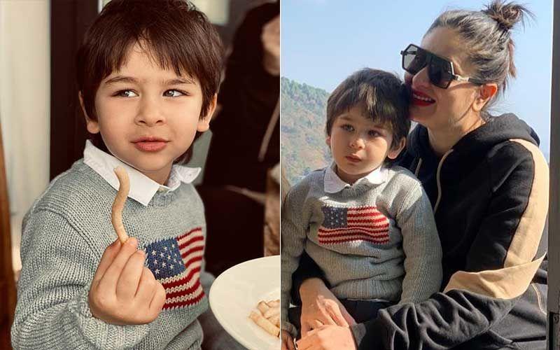 Preggers Kareena Kapoor Khan Drops A Cute Pic Of Son Taimur Ali Khan; Tim Tim Poses With French Fries As Arjun Kapoor Turns Photographer