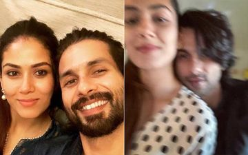 Shahid Kapoor Is Deeply Missing Wifey Mira Rajput; Shares An UNSEEN Blurred Out Pic With His Ladylove