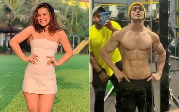 Amidst Breakup Rumours, Benafsha Soonawalla Continues To Chill In Goa While Priyank Sharma Hits The Gym And Resumes Work
