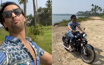Shaheer Sheikh Croons To Song Socha Hai As He Cruises On His Bike In Goa; Gives Fans A Glimpse Of The Serene Sea-Facing Road View-WATCH