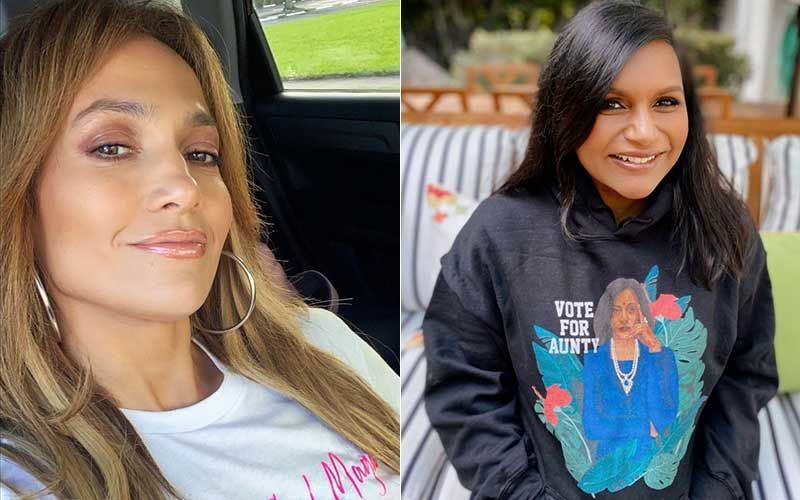 Jennifer Lopez Breaks Down Into Tears After Kamala Harris Is Declared Vice-President Elect In US Elections 2020; Mindy Kaling Says She Was 'Crying And Holding Her Daughter'