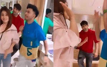 Bigg Boss 13's  Sidharth Shukla Has A Blast Dancing With Shehnaaz Gill-Tony Kakkar, Fans Go ROFL At 'Sid's Expressions Seeing His Laila With Someone Else'- WATCH