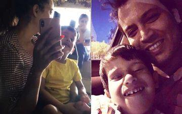 Shweta Tiwari Says 'Andar Mat Aao' As Estranged Husband Abhinav Kohli Tries Meeting His Son Reyansh; Latter Says His 'Goodness Was Misused'-WATCH