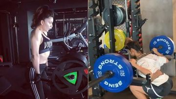 Urvashi Rautela And Disha Patani Kill It Hard In The Gym; Sexy Ladies Lifting Heavy Weights Call For Respect